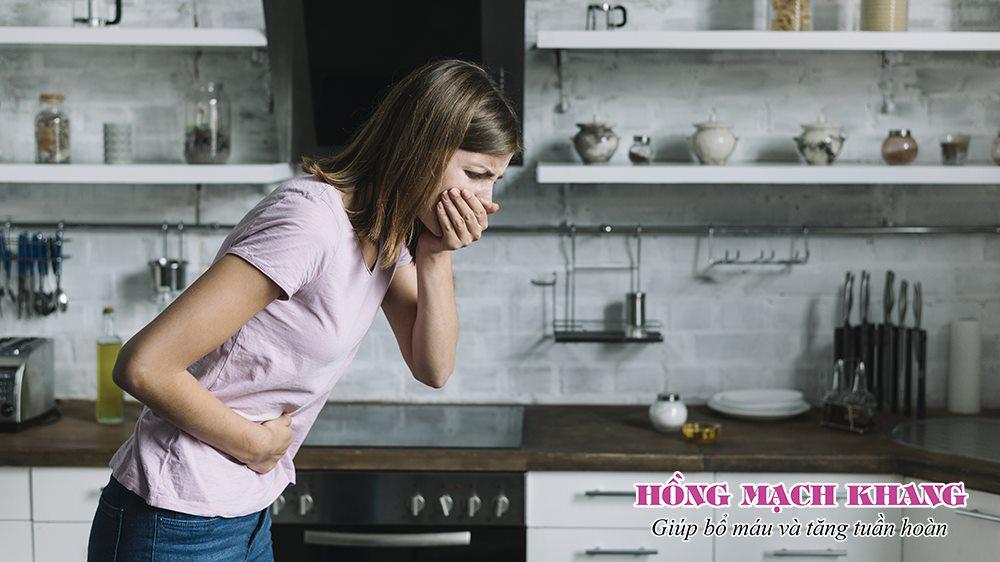 Bổ sung sắt có thể gây tác dụng phụ buồn nôn, rối loạn tiêu hóa